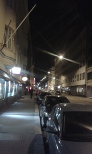 Lönnrotinkatu by night