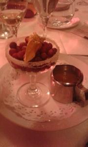 cranberries for dessert