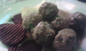 meat balls in Sikala