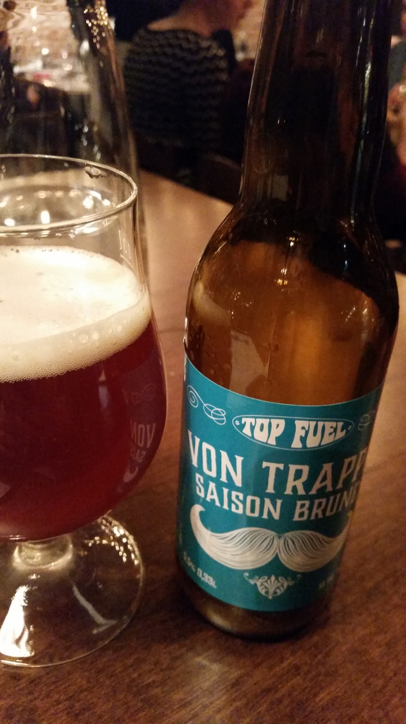 Top Fuel craft beer at Rikhard von Trappe