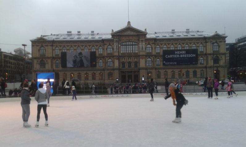 Luistelu Helsinki