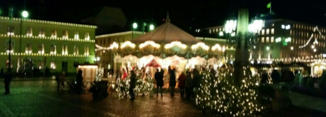 Senaatintori in Christmas