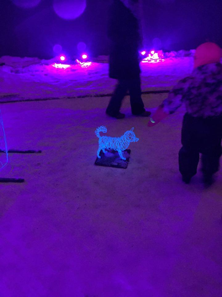 Lux Helsinki 2016 light festival senate square installation