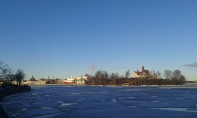 Helsinki and ice