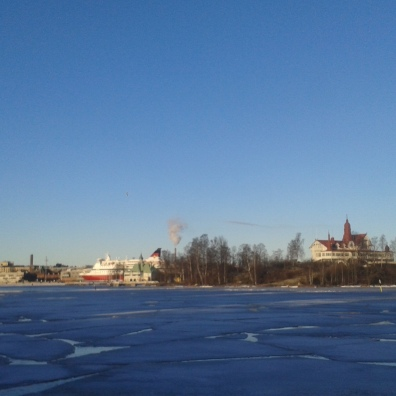 Helsinki and ice