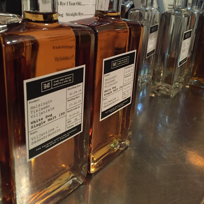 The Helsinki Distillning Company Finnish whiskey at Uisge 2016