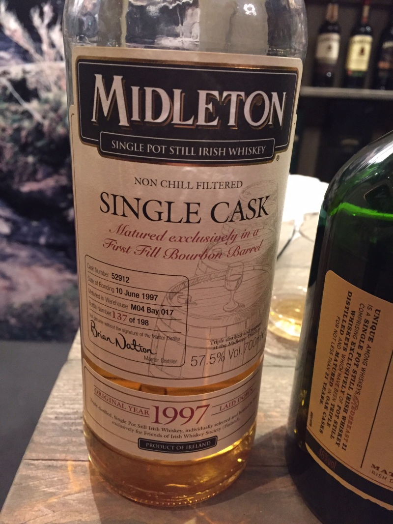 Midleton Single Cask whiskey for IWY