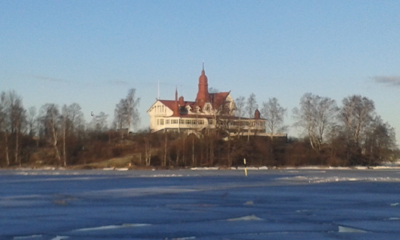 Klippan in winter time