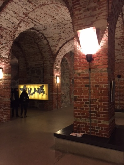 Cellars of Helsinki Cathedral