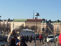 Sun is shining Helsinki