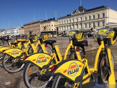 City Bikes Helsinki
