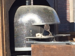 Pizza oven in Teurastamo