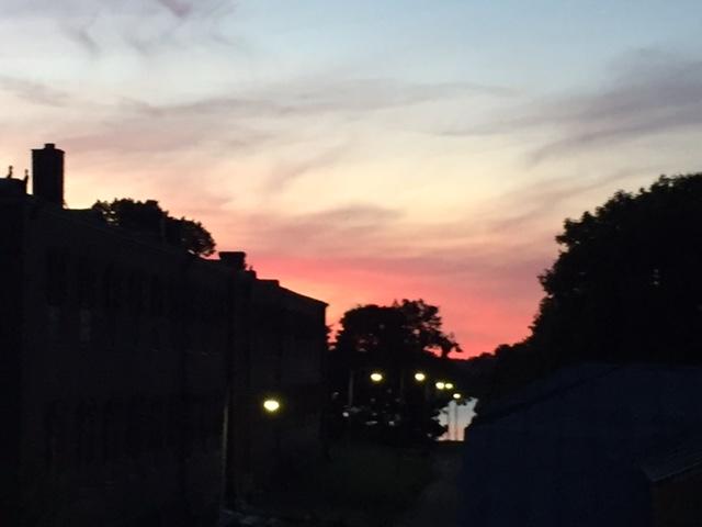 Sky Suomenlinna by night