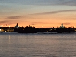Suomenlinna night