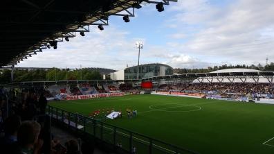 HIFK fans at recent Stadin Derby