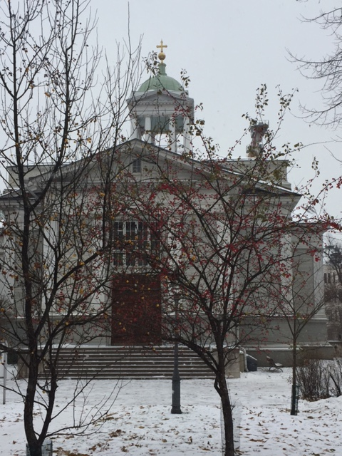 old-church-and-snow