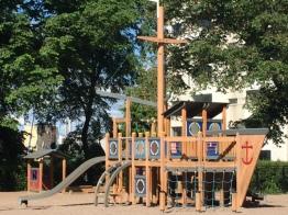 Kids Helsinki fun playground