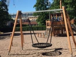 Leikkipuisto Punavuori Helsinki