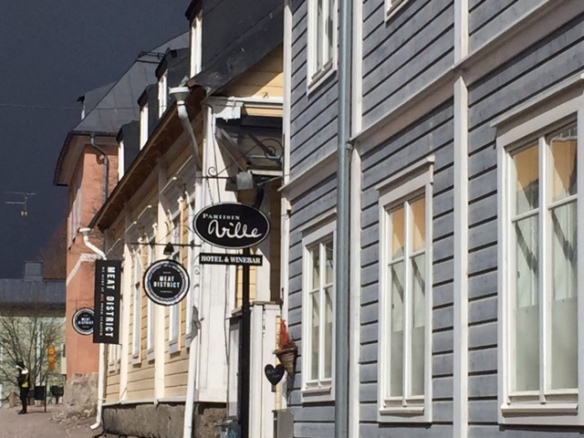 Pittoresque streets of Porvoo
